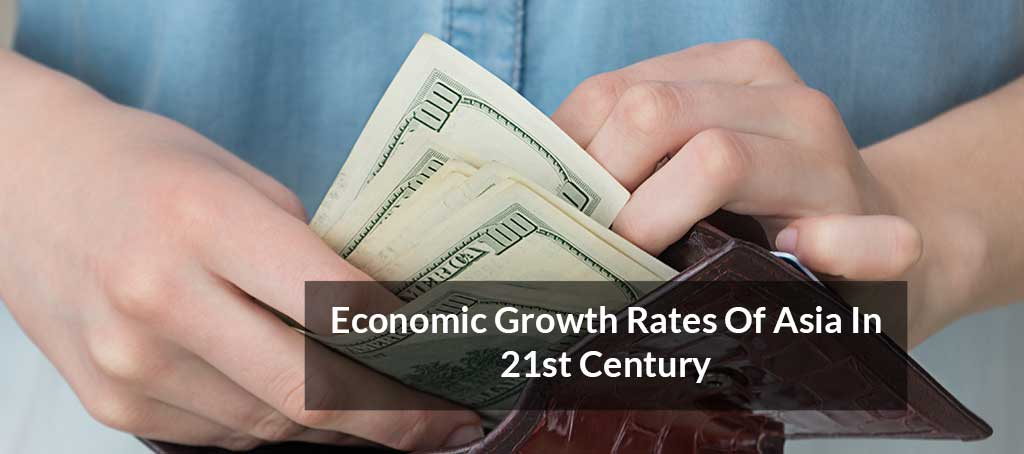 Economic Growth Rates of Asia In 21st Century