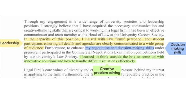 second-paragraph : how to write a good cover letter