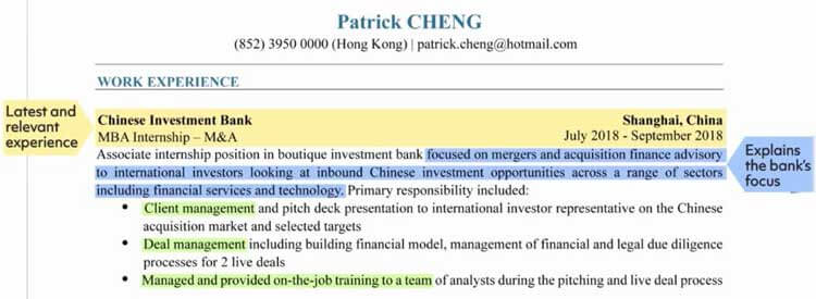 Banking-Job--Work-Experience