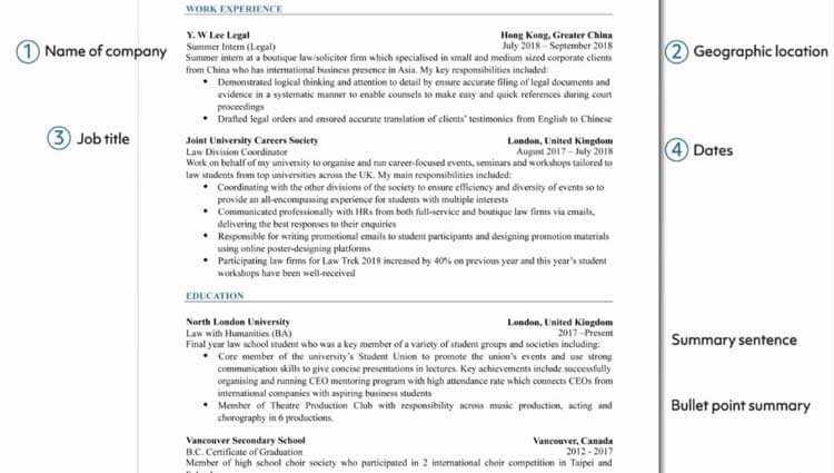 tips-on-how-to-write-a-resume-key-information